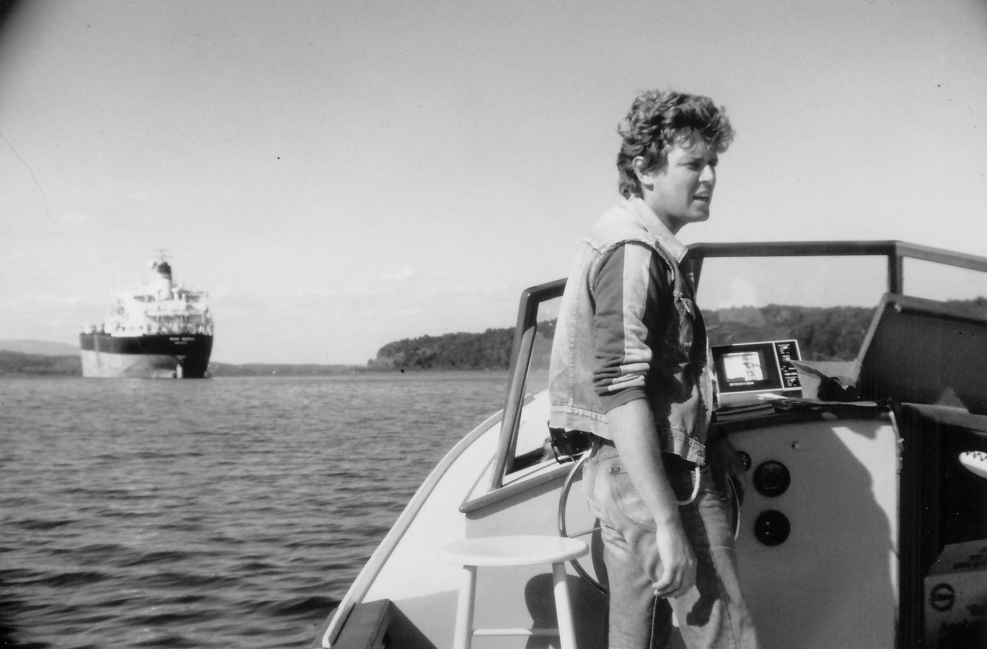 John Cronin, the first Riverkeeper. He used environmental law to stop polluters on the Hudson.