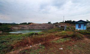 samarinda indonesia coal ash coal pit coal pond