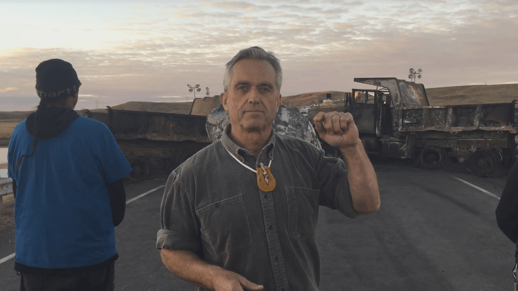nodapl dakota access pipeline robert f. kennedy, jr. standing rock