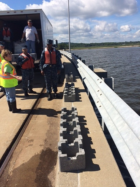 NY/NJ Baykeeper and partners have begun to install a first-of-its-kind urban living shoreline and oyster habitat at Naval Weapons Station Earle in Monmouth County, New Jersey.
