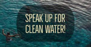 town halls clean water speak up