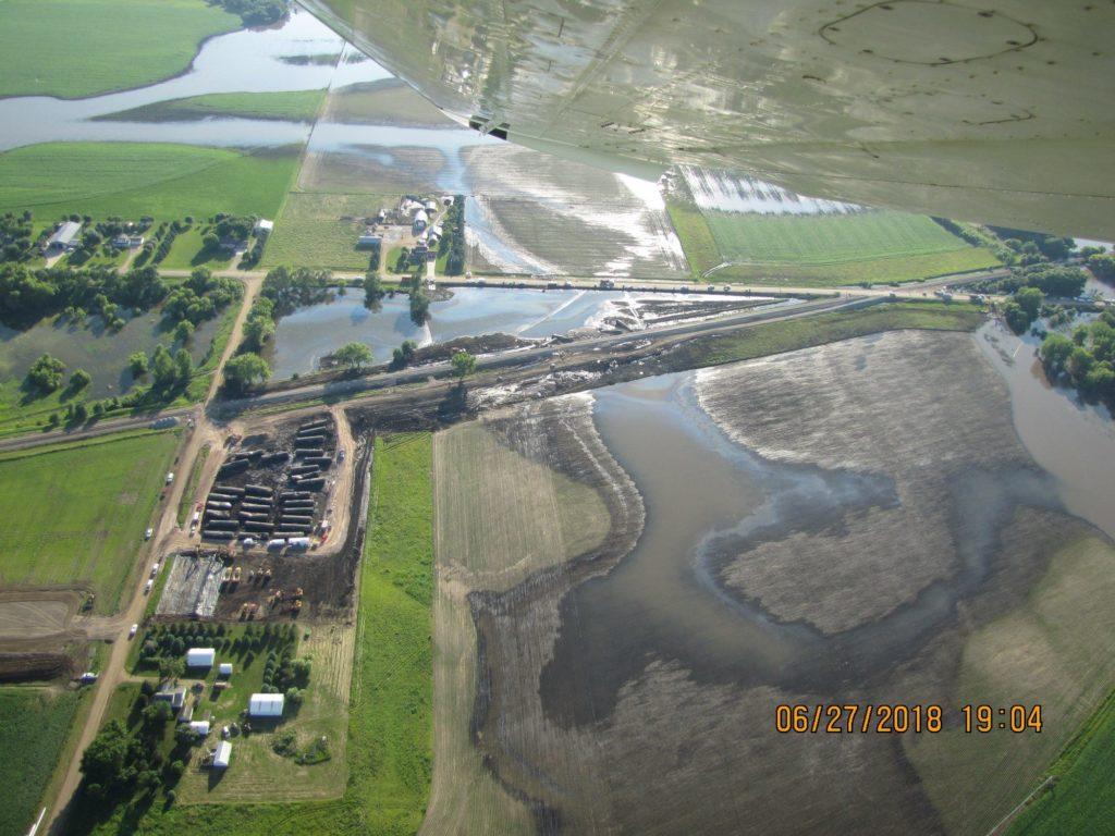 doon train derailment oil spill