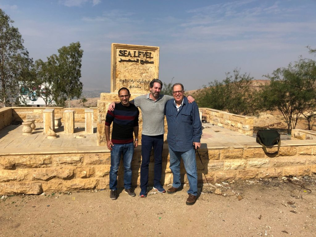 marc yaggi and ecopeace middle east at the jordan river