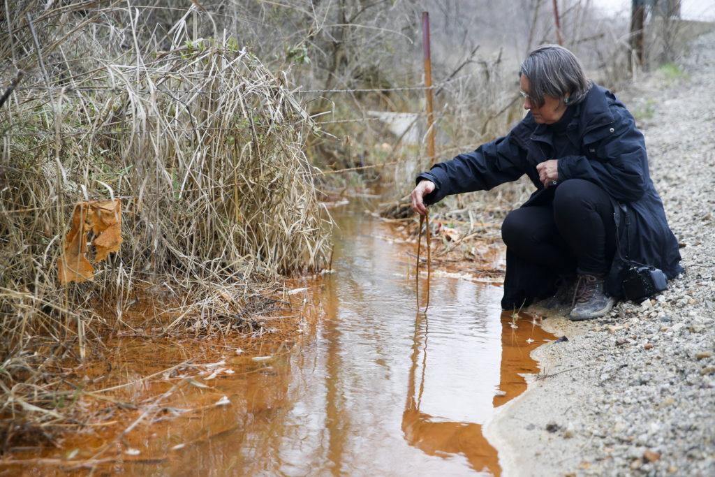 Rebecca Jim at Tar Creek