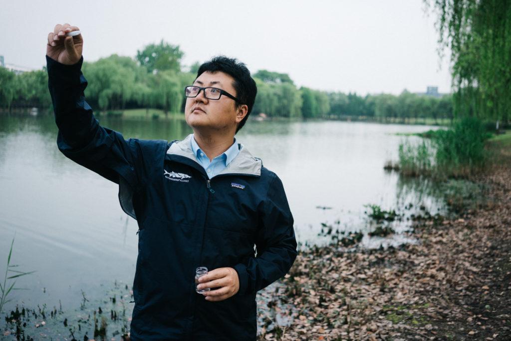 Qiantang River Waterkeeper Hao Xin