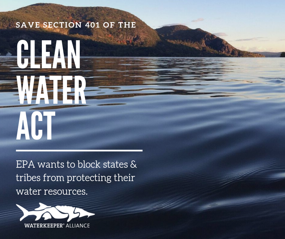 Waterkeeper Groups Across United States Oppose Rollback Of