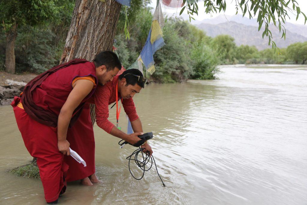 Himalayas water quality testing