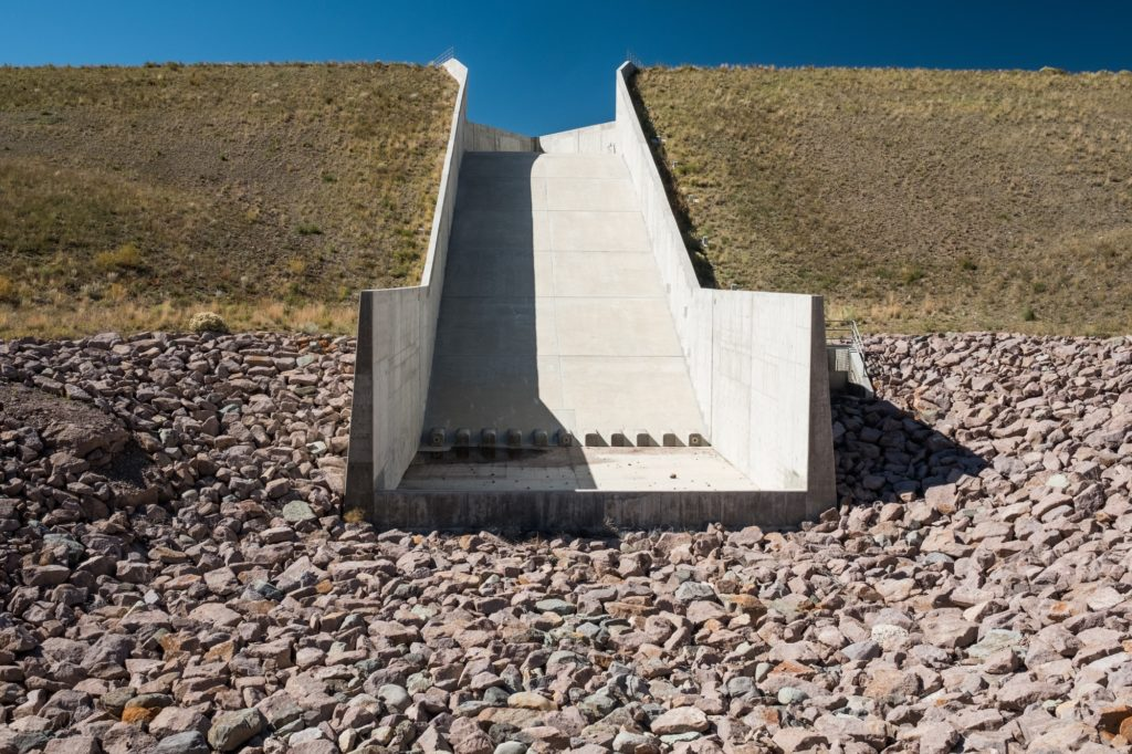 Medina took the lead on implementing funding for the spillway at Terrace Reservoir.