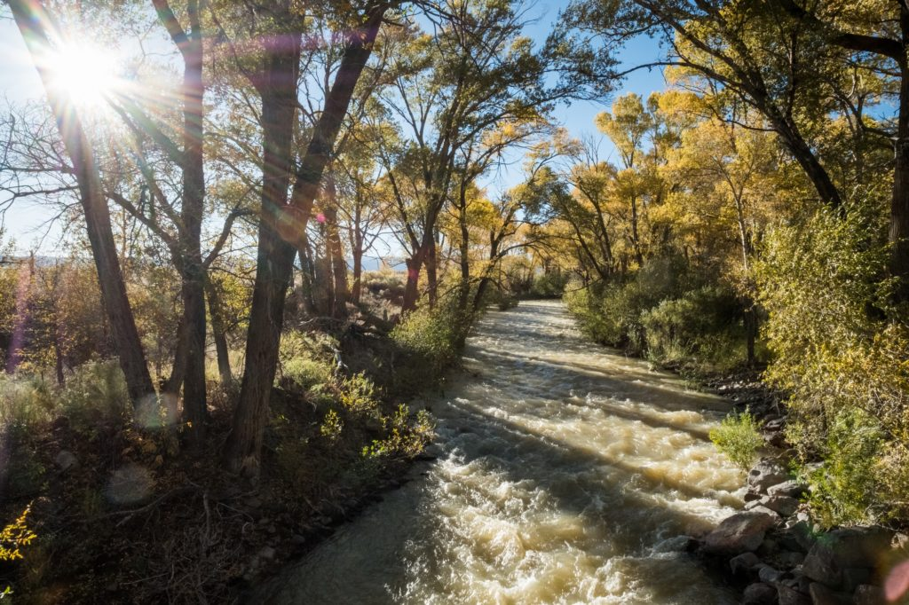 "The 51-mile Alamosa River runs through Capulin, Colorado and is a lifeblood for surrounding communities. The river was named by early Spanish explorers after a Spanish word meaning ""shaded with cottonwood."""