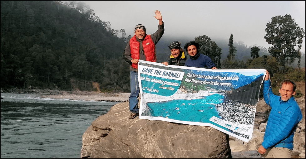 Upper Karnali River Dam Site