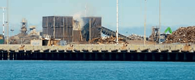 Schnitzer Steel, an Oakland auto and metal recycling facility, was ordered by regulators to better control toxic waste blowing into San Francisco Bay as a result of Baykeeper's advocacy.
