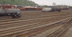BNSF Railway's Balmer Yard