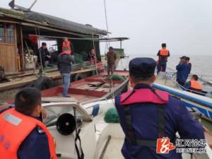 Dongting Lake Waterkeeper on patrol during spring fishing ban||||||