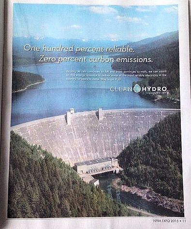 A U.S. government pamphlet touts the benefits of hydropower. Because very few of the world's dams are being studied, the huge amounts of methane they emit are mostly unaccounted for in climate-change analysis.