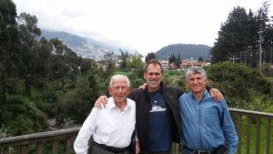 Rafael Chambers (left), Gary Wockner, and Patricio Chambers