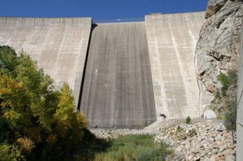 Gross Dam Colorado River